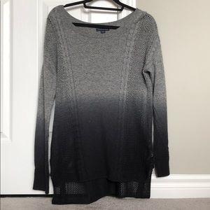 american eagle wide neck sweater